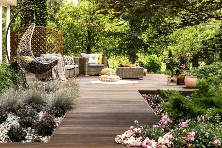 comment créer un coin détente dans le jardin